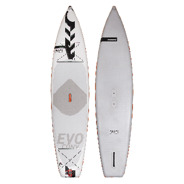 STAND Up paddle Board / Sup Gonfiabile AIR EVO TOURER CONVERTIBLE 12'