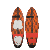 Kiteboard / Tavola / Surfino RRD Rocket classic wood LTD