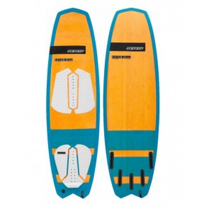 "Kiteboard / Tavola kite / cotan rrd 5'4"" wood surfboard"