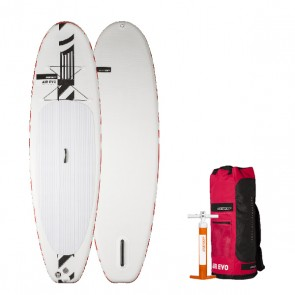 STAND Up paddle Board / Sup Gonfiabile RRD Air evo Pompa, leash e pagaia package