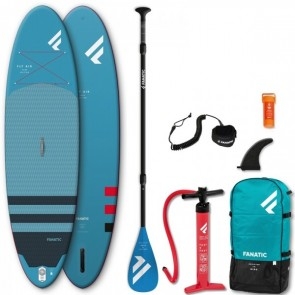 Sup Gonfiabile inflatable Standup paddle Fanatic 10,4 fly air+pagaia leash, pompa e sacca