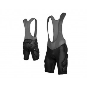 mountain bike protezioni Bib short with integrated Flex_Protection